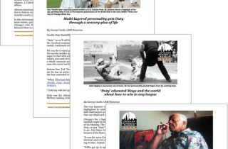 Chicago Baseball Museum article layout and design by O3 Internet Consulting.
