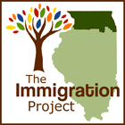 The Immigration Project logo design by O3 Internet Consulting