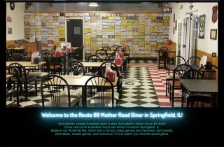 Route 66 Diner: WordPress website