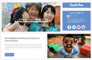 Ronald McDonald House Charities of Central Illinois – A Mobile Responsive Website with Improved Functionality